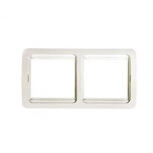 Рамка 2-м CLASSICO 2302H бел. ASD / IN HOME 4680005959938