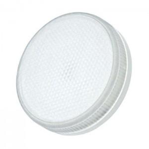 Лампа светодиодная PLED-ECO-GX53 6Вт таблетка 5000К frost холод. бел. GX53 460лм 230В JazzWay 2852007