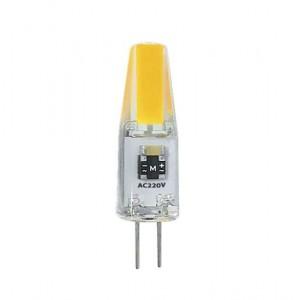 Лампа светодиодная PLED-G4 COB 3Вт капсульная 5500К холод. бел. G4 240лм 220В JazzWay 2857477