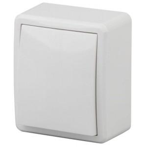 Выключатель 1-кл. ОП Эра Эксперт 10А IP20 11-1201-01 250В 10AX бел. Эра Б0020653