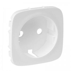 Панель лицевая Valena Allure для розетки 2К+З бел. Leg 755205
