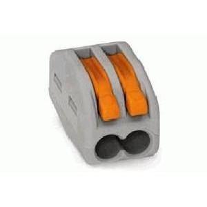 Клеммник универсальный 2х(0.08-2.5) WAGO 222-412